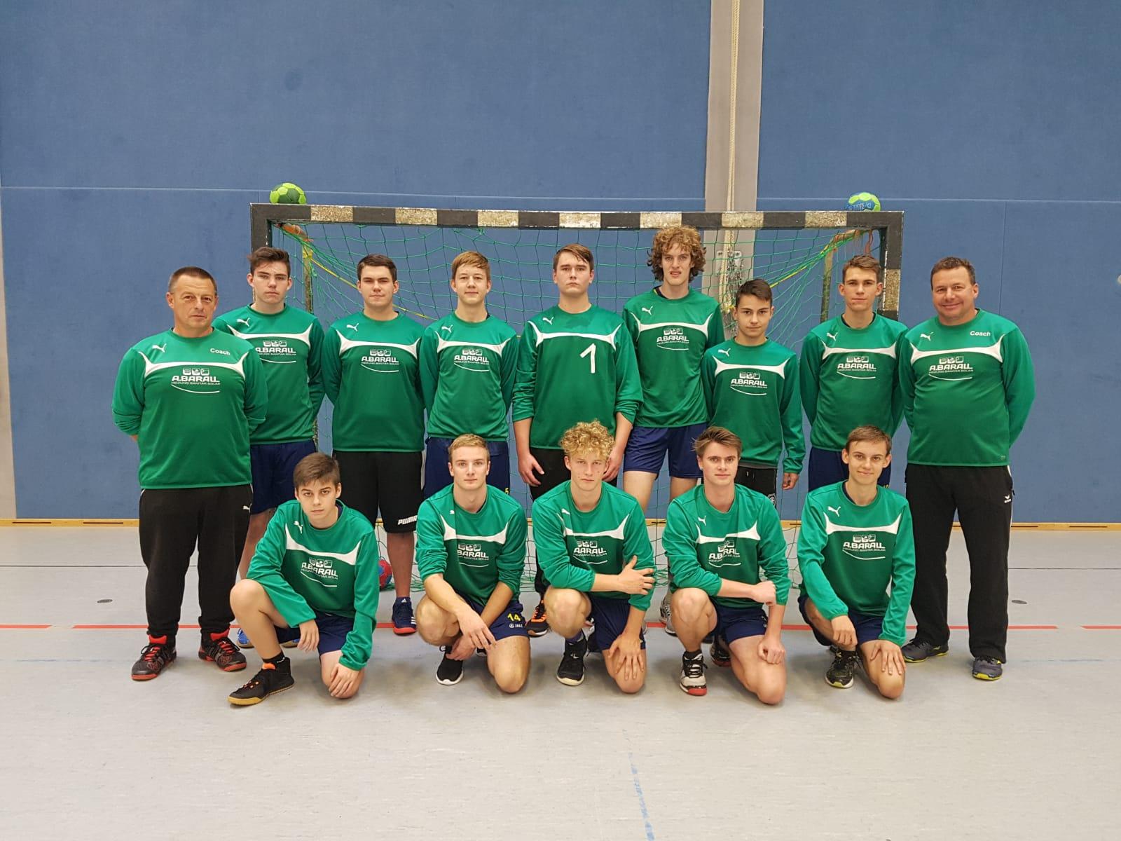 Die männliche B-Jugend - Saison 2019/2020